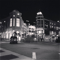 Intersection at Rodeo Drive